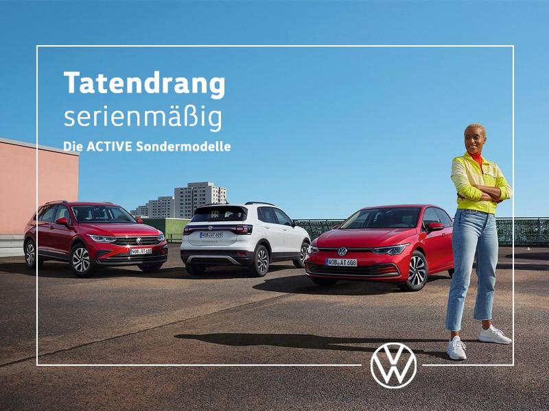Volkswagen ACTIVE Sondermodelle