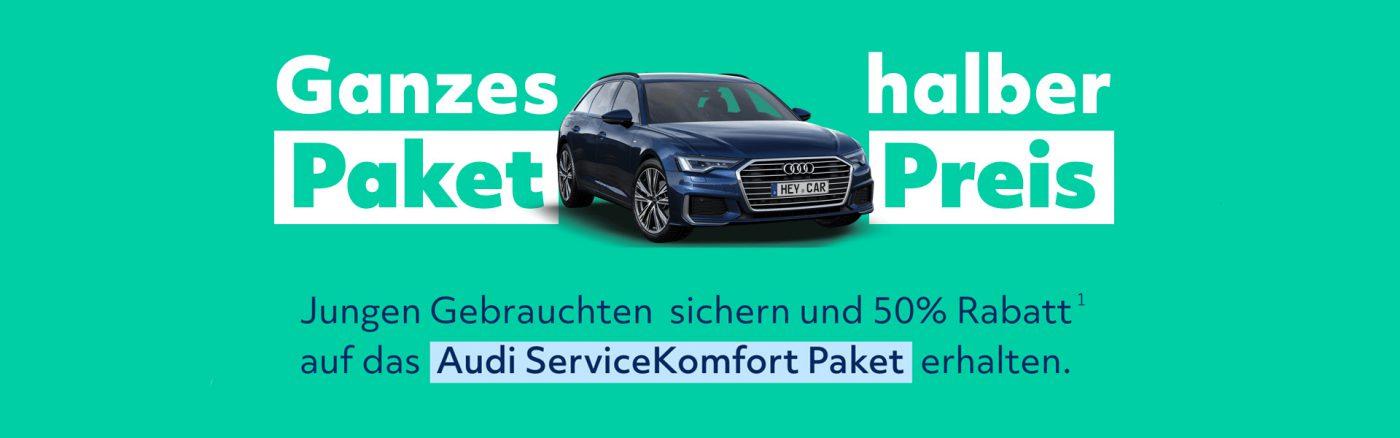 heycar Audi ServiceKomfort